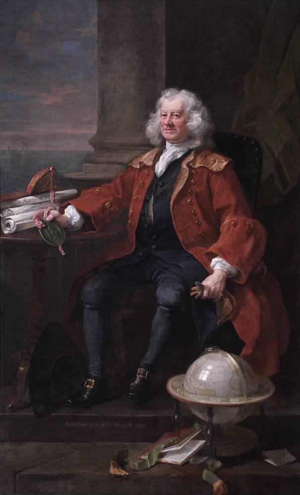 William Hogarth, Captain Thomas Coram, 1740 © Coram in the care of the Foundling Museum