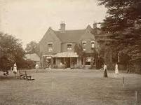 Borley Rectory in Edwardian times - note the complete absence of ghostly figures.
