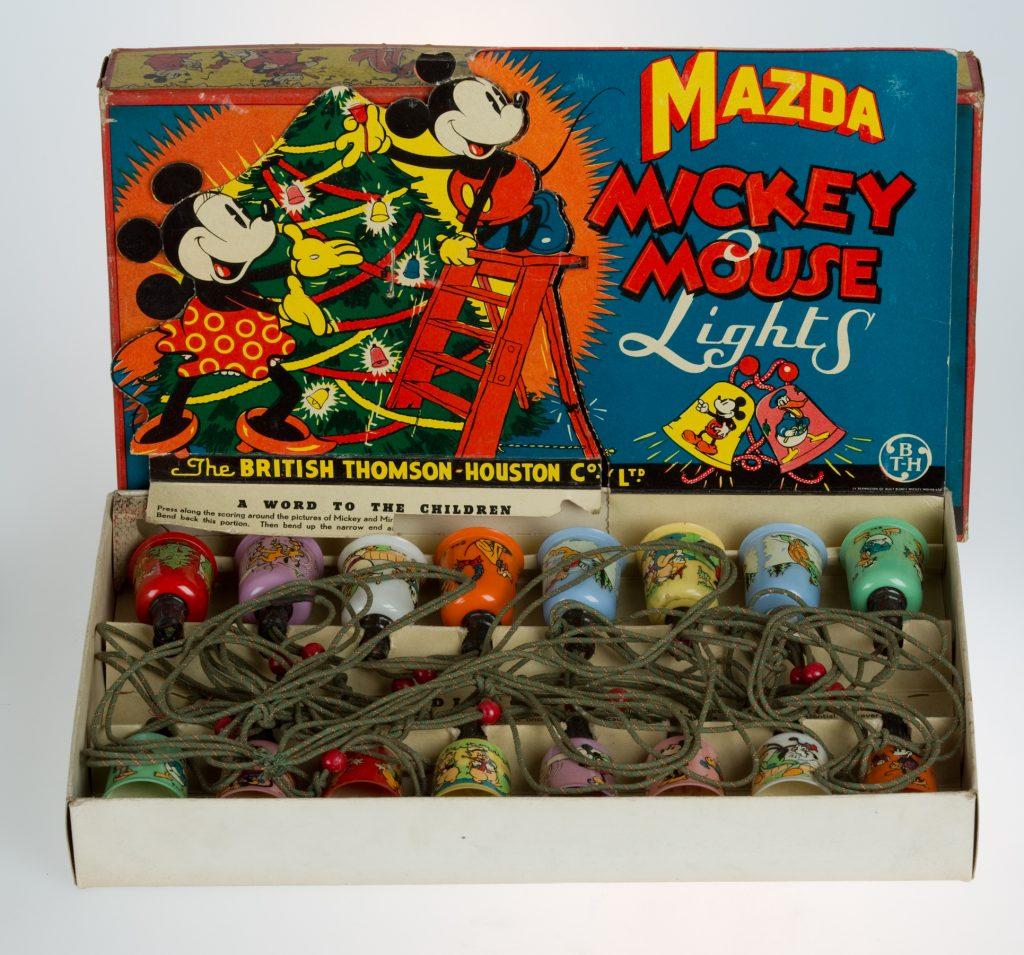 MC52.89 Mickey Mouse Christmas Lights